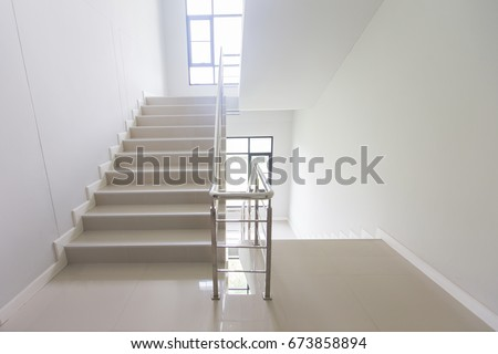 Staircase   Emergency Exit In Hotel, Close Up Staircase, Interior Staircases,  Interior