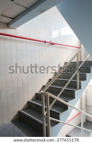 staircase on apartment
