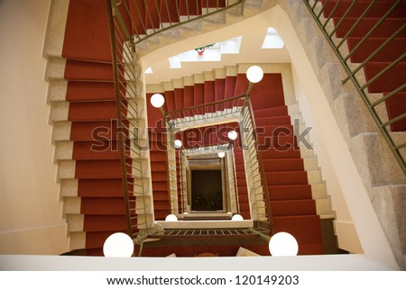 Staircase with stair