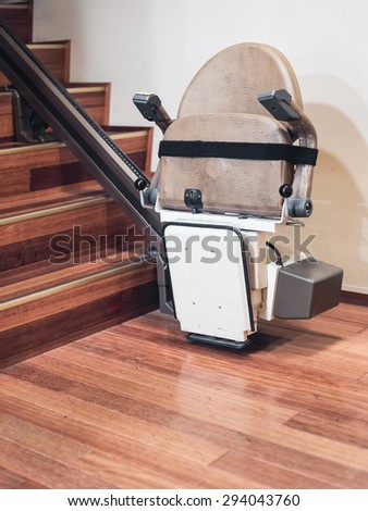 Stairlift - stock photo