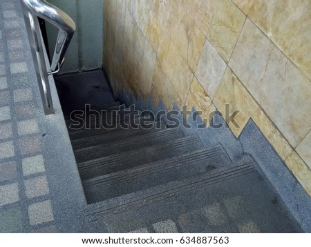 basement stairs looking down. Stairs down the basement Basement Stock Images  Royalty Free Vectors