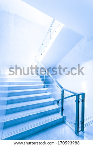 Stairs in modern  interior