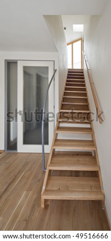 stairs indoor home - stock photo