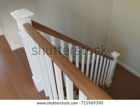 Wonderful Stairs Interior Staircase White And Wood Classical Handrails Ramp  Architecture Steps