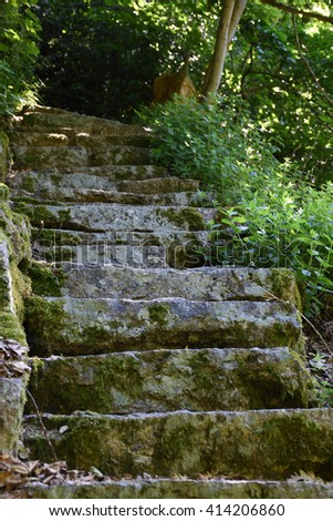 stairs of stone
