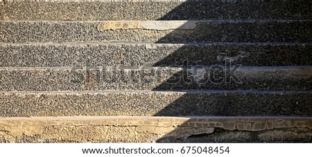 Stairs shadow