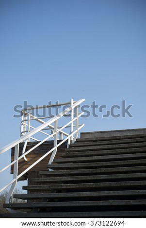 Stairs to the sky - stock photo