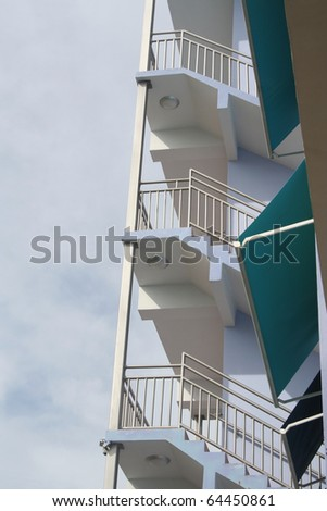 Stairs with Awnings