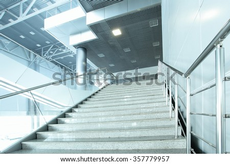 Stairway - interior of modern building