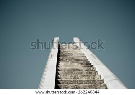 Stairway to Heaven - stock photo