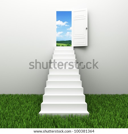 Stairway to the sky, Climbs  the ladder of success