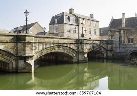 Stamford, England - stock photo