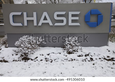 STAMFORD - MARCH 21: Chase Bank branch in Stamford, United States America.   March 21st, 2016.