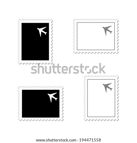 stamps - stock photo