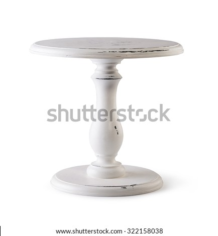 Stand for Cake  isolated on white background - stock photo