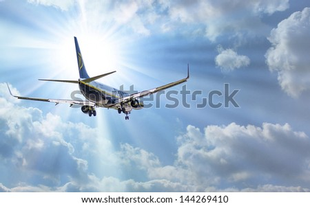 STANSTED, ENGLAND - JUNE 01: An RYANAIR Boeing 737 800 takes off from Stansted airport on June 01, 2013 in  England. In 2013, Ryanair carried 42.4 million passengers to European destinations.