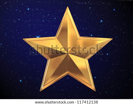 star - stock photo