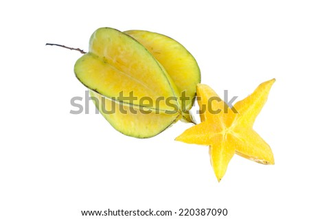 Star apple - stock photo