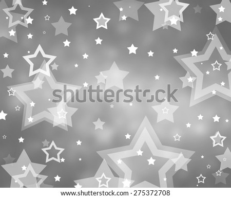star background, successful job or superstar sales award - stock photo
