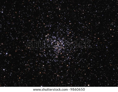 Star Cluster M37 - stock photo