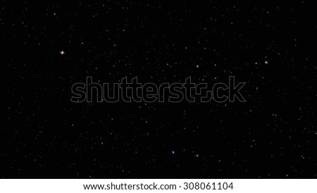 Star Cosmic Background - stock photo