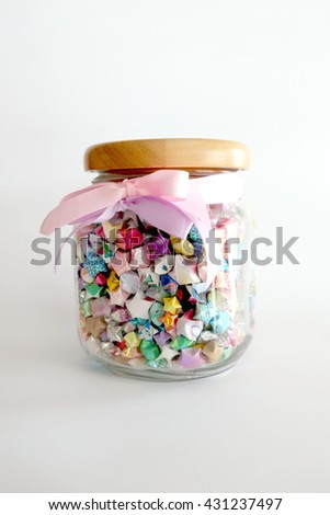 Star in Jar glass