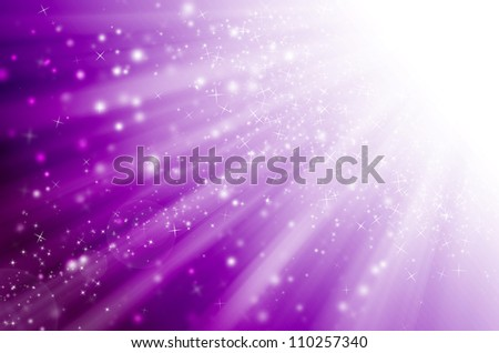 star light with purple background. - stock photo