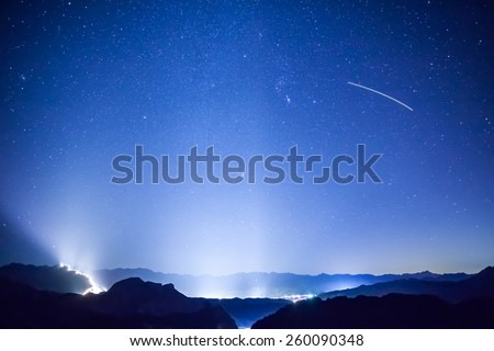 Star Night - stock photo