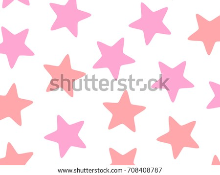 Star pattern based on random elements for your modern backdrop