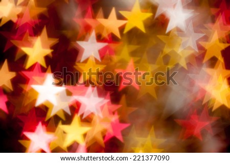 star shape as background - stock photo