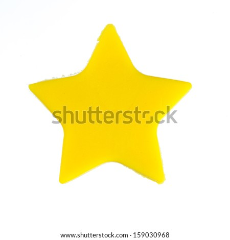 Star shaped modelling clay