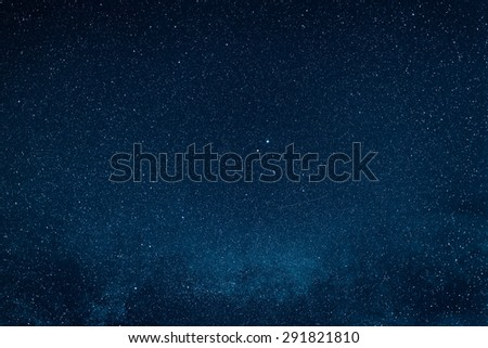 Star sky,Night sky with stars - stock photo