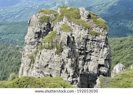 Stara Planina mountain in Serbia - stock photo