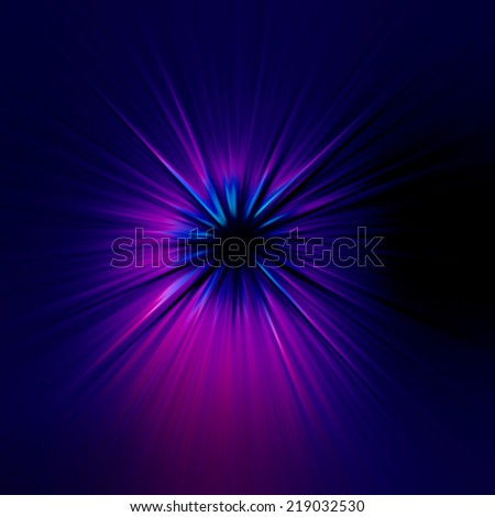 starburst blue and purple abstract background - stock photo