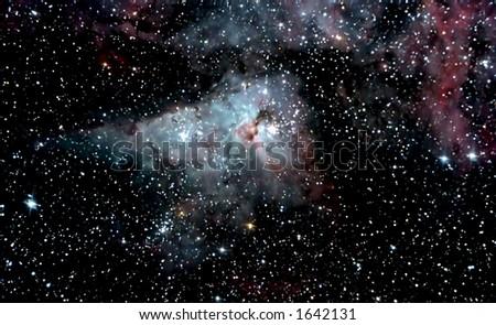 Starcloud - stock photo