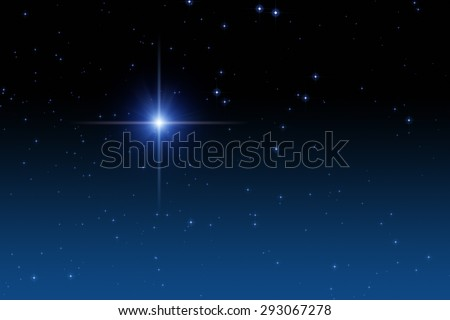 Starfield in the Milky Way. No elements of NASA or other third party. - stock photo