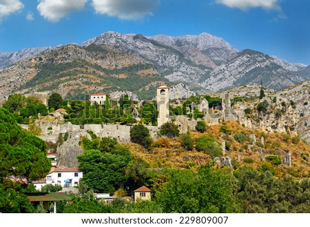 Stari Bar, Montenegro, World Heritage Site by UNESCO - Properties submitted on the Tentative List