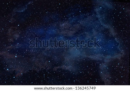 starry in the night sky background,abstract