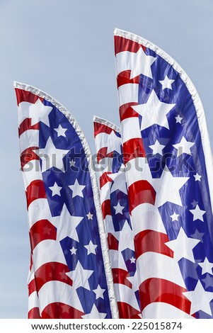 stars and stripes banners