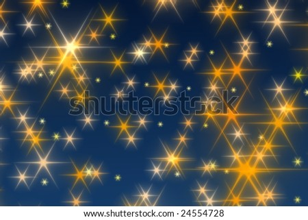 Stars Background - Holy Night 3D