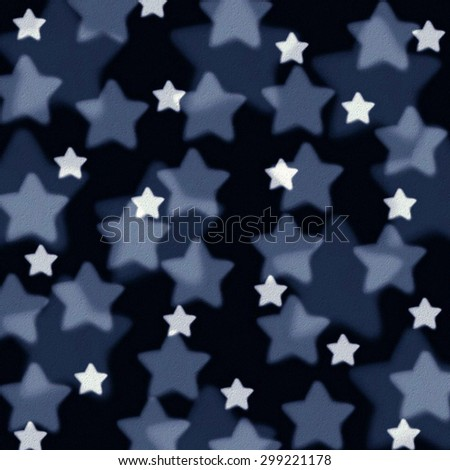 stars of different sizes, background texture - stock photo