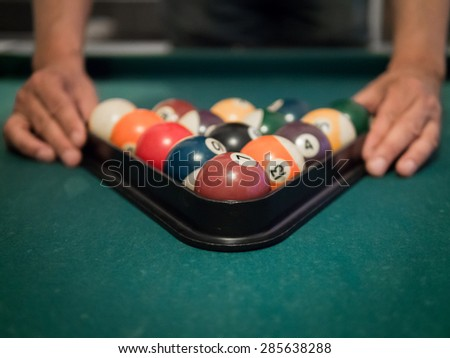 Start playing pool billiard