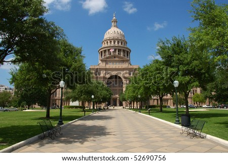 State capitol Austin, Texas