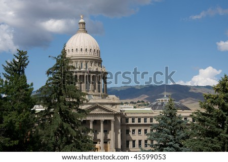 State Capitol Building, Boise, Idaho - stock photo