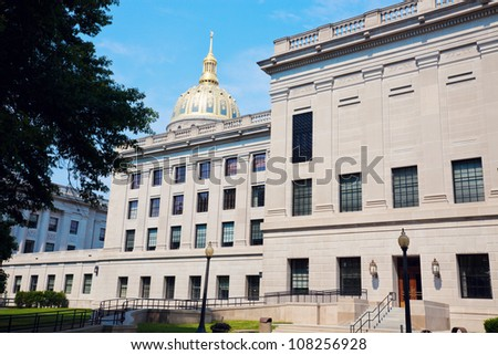 State Capitol Building in Charleston, West Virginia, USA