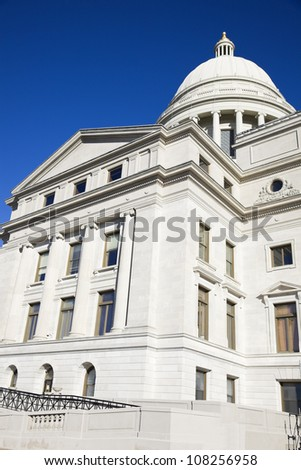 State Capitol Building in Little Rock, Arkansas, USA - stock photo