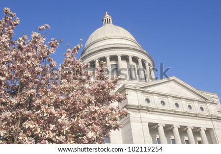 State Capitol of Arkansas, Little Rock - stock photo