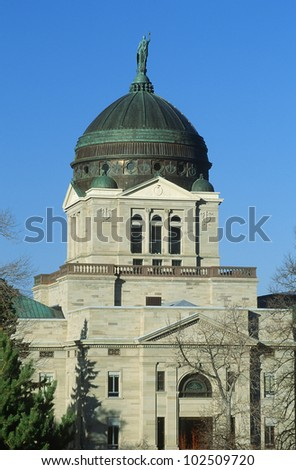 State Capitol of Montana, Helena - stock photo