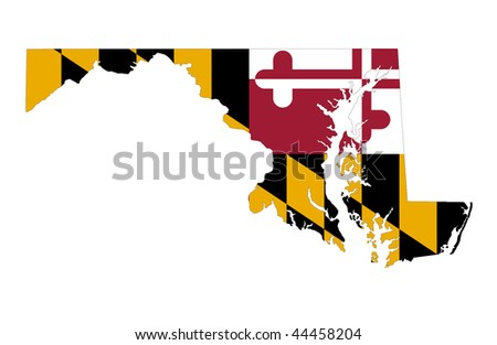 State of Maryland - stock photo