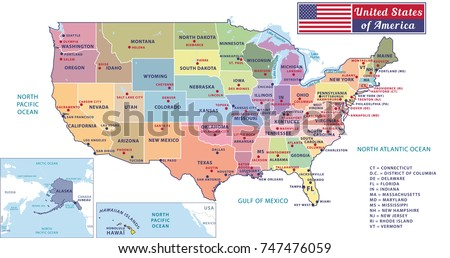 Map United States With Capitals Us Map States And Capitals Test Us - Us map with capitals and states